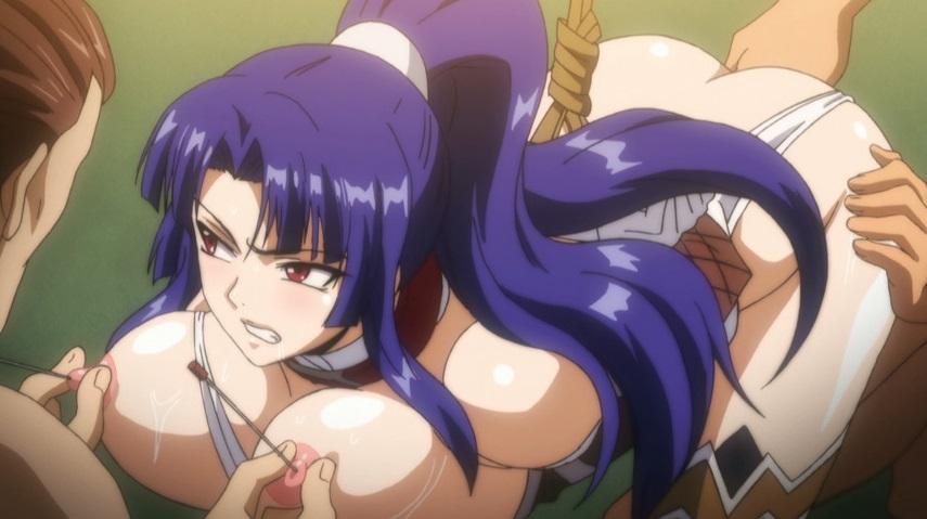 紫を凌辱調教