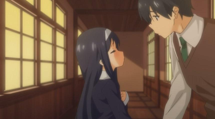 紗衣とキス